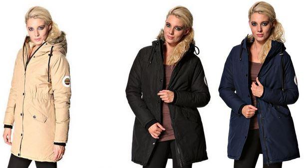 STYLEPIT Pretty Parka   Damen Winterjacke für je 54,95€