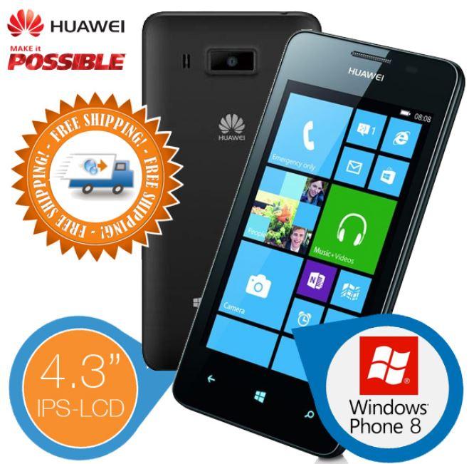 Huawei Ascend W2   Windows Phone 8 Smartphone für 139,95€