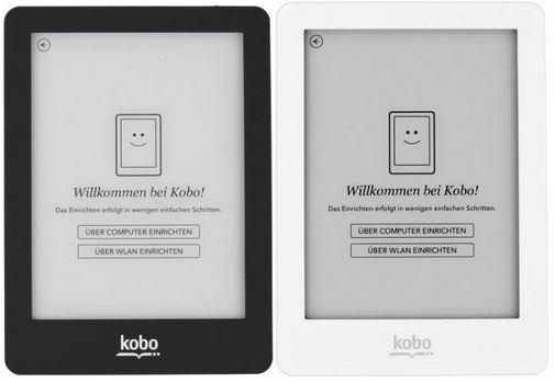 Kobo Glo ein 6 Zoll eInk Book Reader mit WLan und USB für 119€