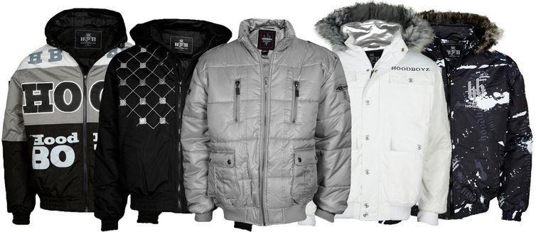 Hoodboyz Winterjacken   verschiedene Herren Modelle je 29,90€
