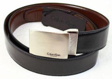 Calvin Klein   längenverstellbare Herren Ledergürtel für je 29,90€