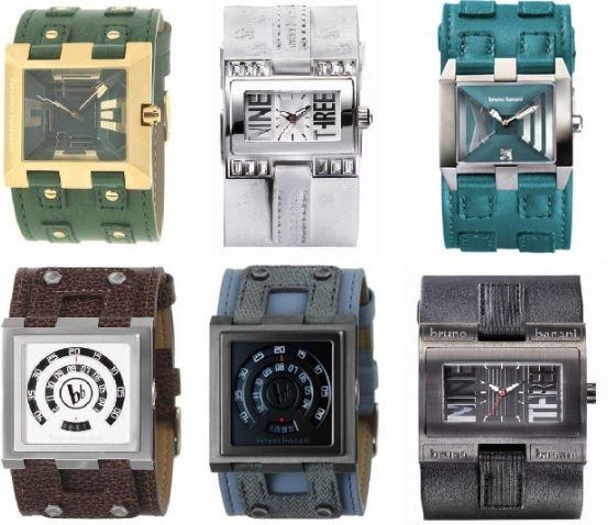 Bruno Banani   Damen und Herren Mode Armbanduhren für je 29,99€