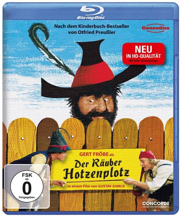 Der Räuber Hotzenplotz (inkl. Stickerbeilage) in HD auf Blu ray für nur 8,97€