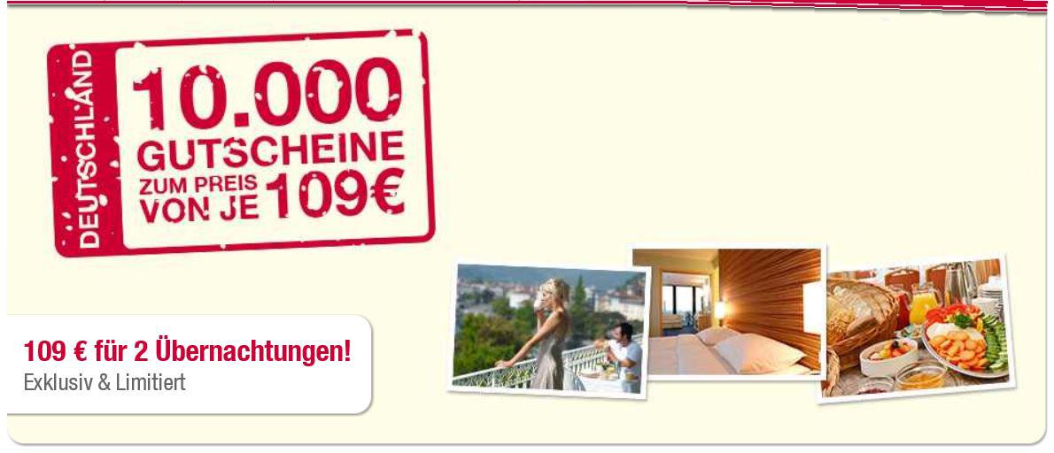 41 RAMADA Hotels in ganz Deutschland, 2 Übernachtungen für 2 Personen nur 109€   Update!