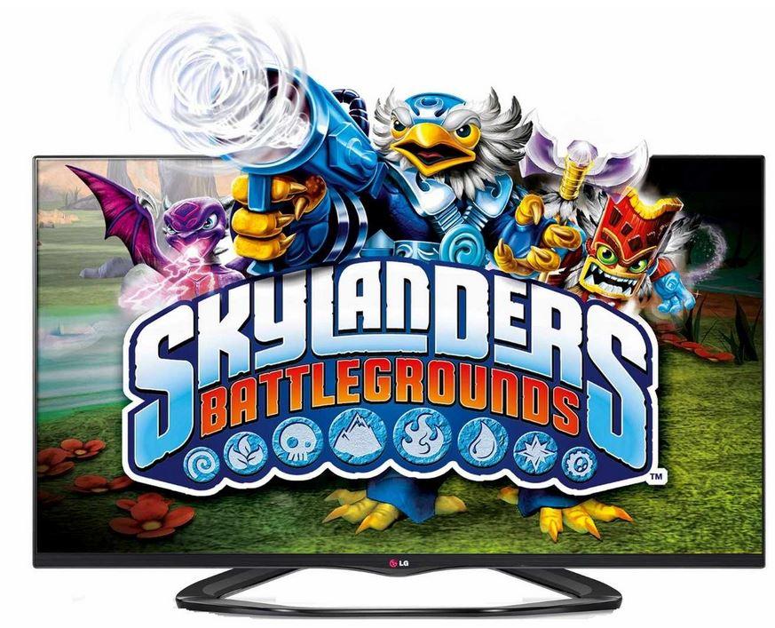 LG 32LA6608, 3D 32 Zoll Smart TV mit vier 3D Brillen für 429€ + kostenlos Skylanders Battleground