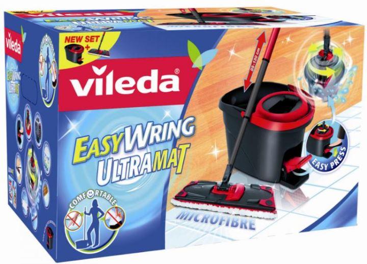Vileda Easywring Set, Bodenwischer mit Eimer, PowerSchleuder und Ersatzwischbezug für 39,90€   wieder da!