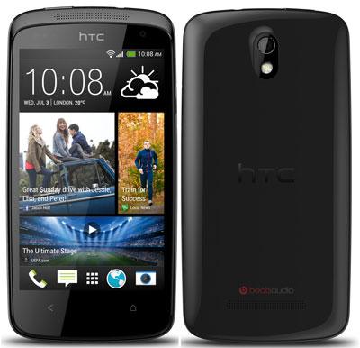 HTC Desire 500 für 189€   4,3 Android Smartphone mit 8MP Kamera