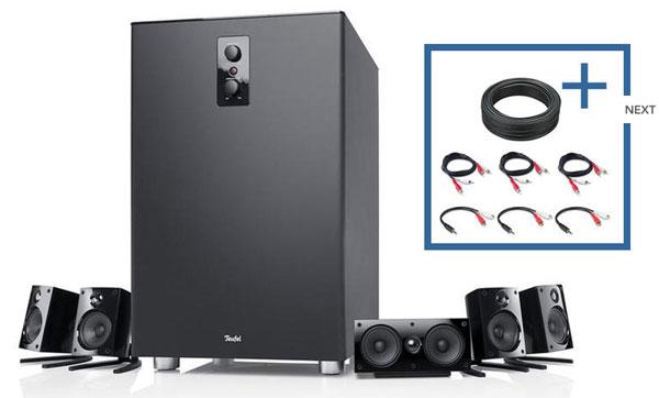 Teufel Concept E 450 für 309,99€   5.1 Lautsprecher Set