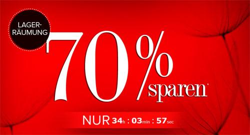 Lagerräumung bei dress for less   bis zu 70% Rabatt + 10% Gutschein