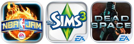 Alle EA Apps für 0,89€ im iTunes Store