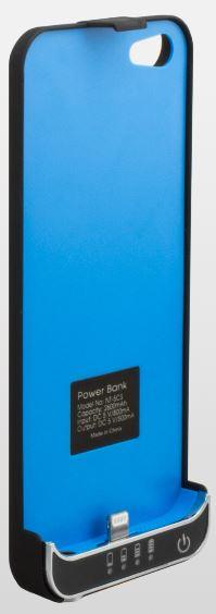 NINETEC 3200mAh PowerCase Schutzhülle + Akkufunktion für iPhone 5S (C) + Samsung S4 (3) für je 14,99€