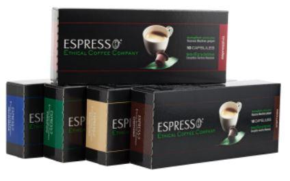 ECC Cremoso   Nespresso kompatible Kapseln (10 Stück) für 1,88€ inkl. Versand