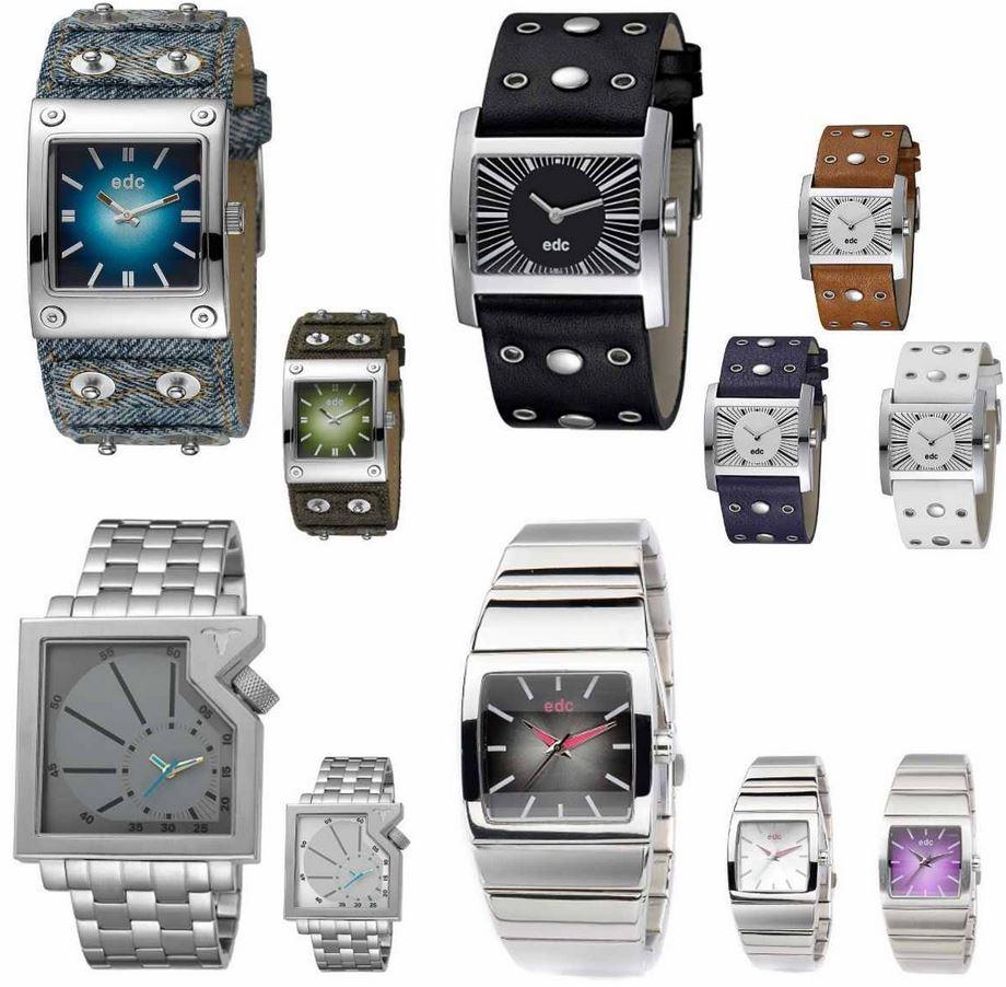 EDC by Esprit   Unisex Uhren, verschiedene Modelle für je 29,95€