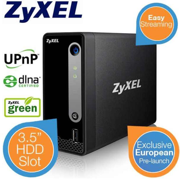 Zyxel NSA310S One Bay Media & (Home) NAS Server für 32,89€   Update!
