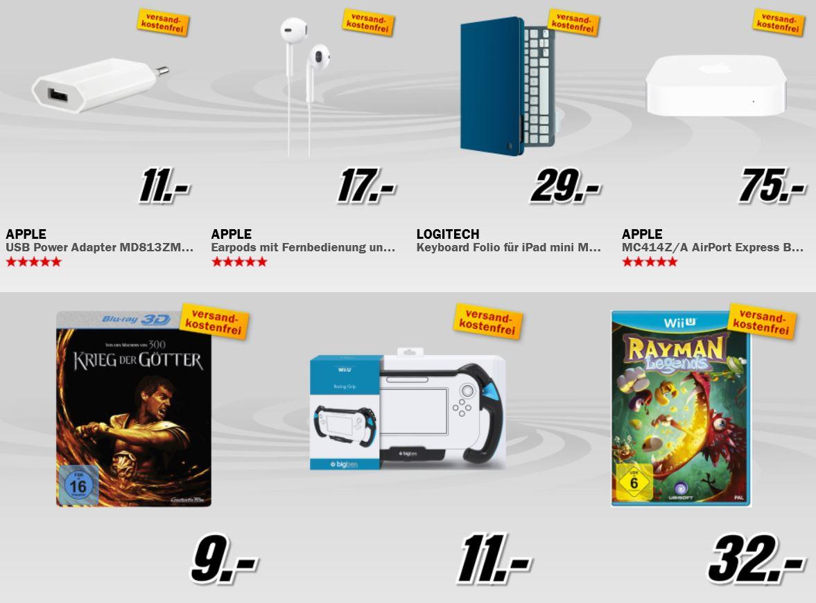 Apple iPad mini 32GB WiFi + 4G für 444€ und mehr beim MediaMarkt Adventskalender