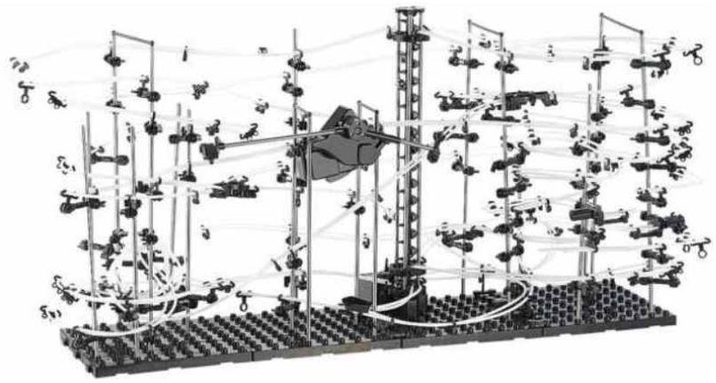 Playtastic   professionelle Kugel Achterbahn   Weihnachts Spielzeug für 29,99€    Update!