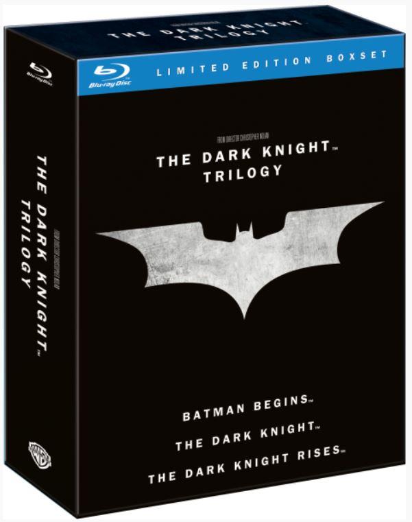 Batman: The Dark Knight Trilogy als Blu ray Box für 11,99€ (statt 19€)