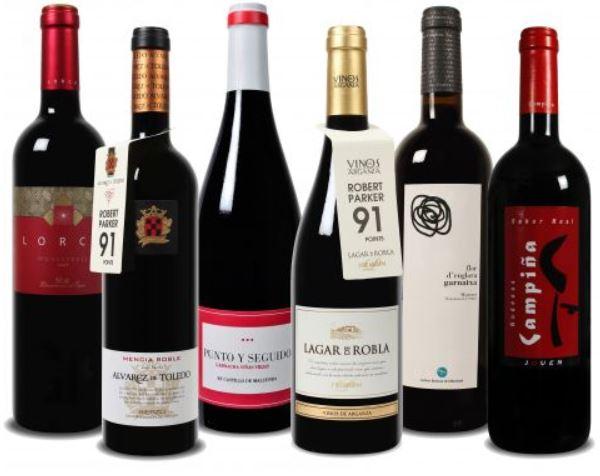 Update! Wein Probierpaket bei Weinvorteil für 26,49€