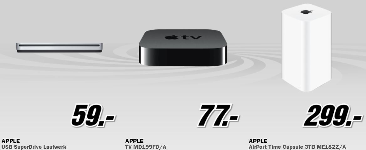 Apple TV für 77€ und mehr beim MediaMarkt Adventskalender