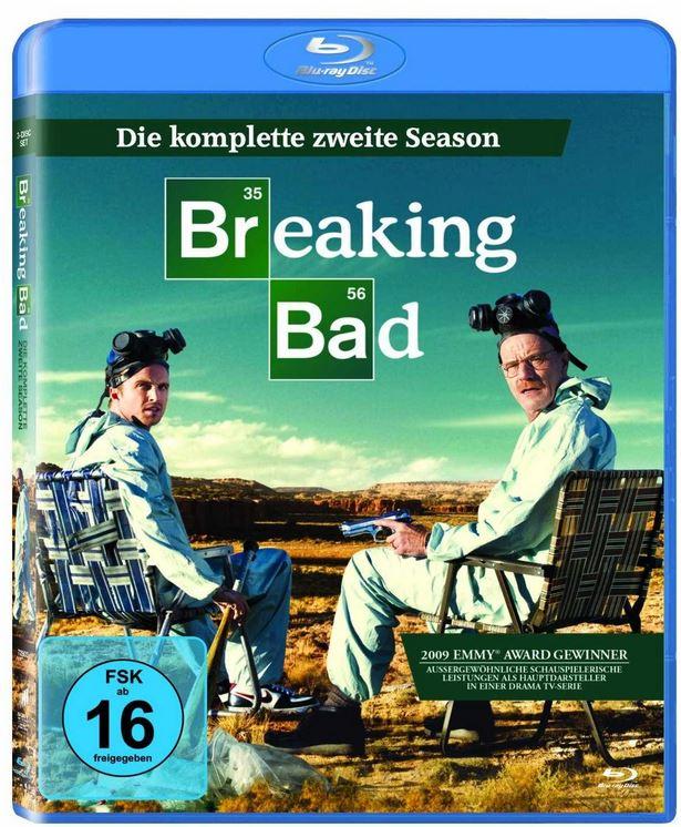 Breaking Bad – Season 2 [3 Blu ray] für 26,97€ und mehr Amazon Winterdeals [Tag10]