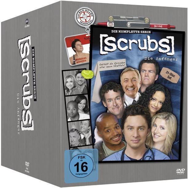 Scrubs: Die Anfänger – Die komplette Serie DVD für 48,97€ und mehr Amazon Winterdeals [Tag12]