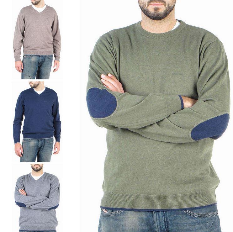 ARMANI Jeans   Herren Sweater mit V und Rundkragen für je 74,90€