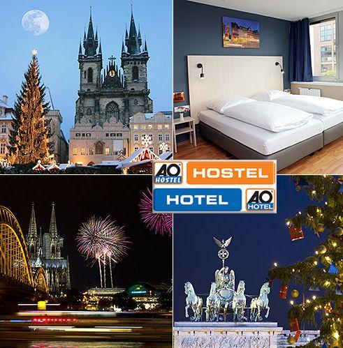 A&O TO GO Hotelgutschein für Hotels in AMSTERDAM, WIEN, PRAG und GRAZ für 89€   Update!