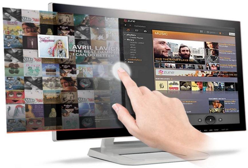 LG Flatron 23ET83V   23 Monitor mit Touchscreen und IPS Panel für 199€