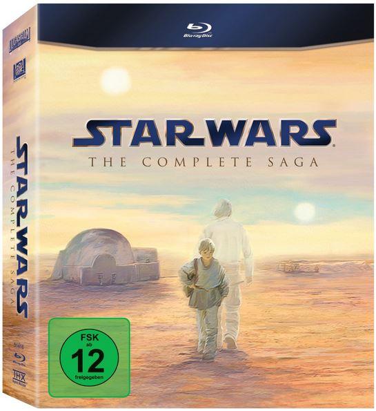 Star Wars: The Complete Saga I VI [Blu ray] für 65,97€ und mehr Amazon Winterdeals [Tag15]