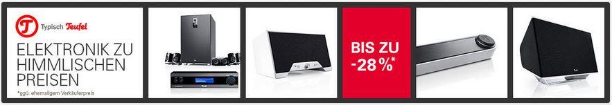 Teufel Aureol Real Kopfhörer für 74,99€ und mehr im Teufel Sale auf ebay   Update!