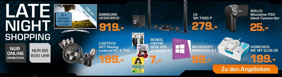 Logitech G27 Racing PC + PS3 Lenkrad für 199€ beim Saturn Late Night Sale