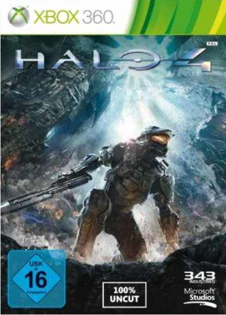 Xbox 360   250 GB + Tomb Raider + Halo 4 für 169€