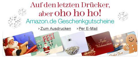 Last Minute Geschenk   Amazon Geschenkgutscheine