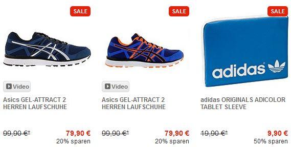 Runnerspoint Sale & 20% Rabattcode auf Freizeitschuhe   Update