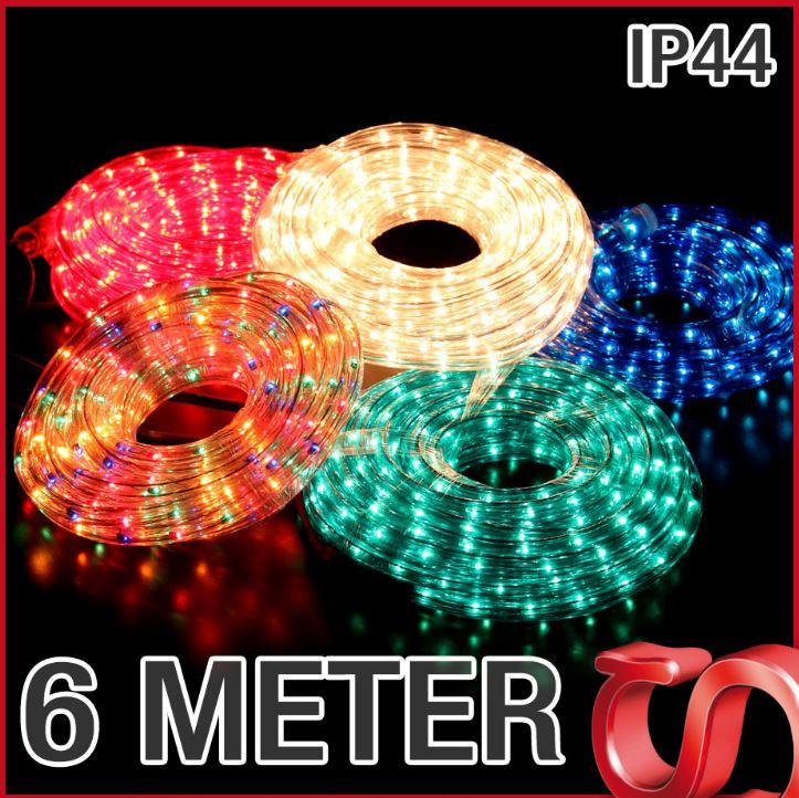 6 Meter Lichtschlauch für Innen  und Aussenbereich verschiedene Farben je nur 15€