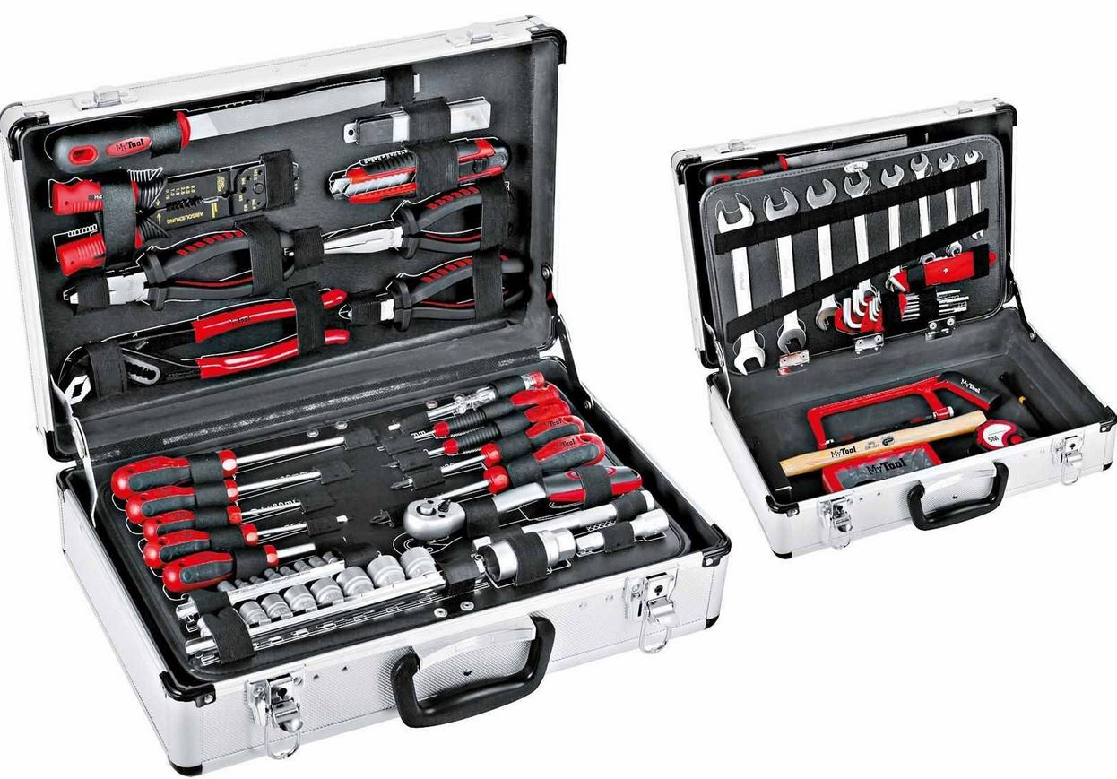 MyTool 100tlg Werkzeugkoffer Set für 89€
