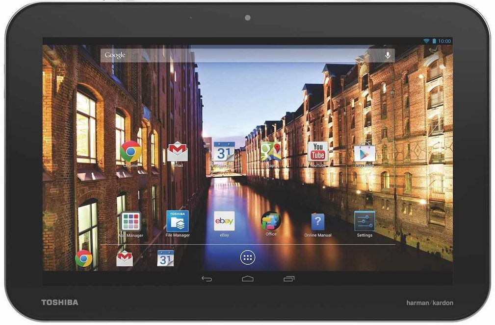 Toshiba AT10LE A 108   10,1 Zoll Android Tablet 16GB für 279,09€