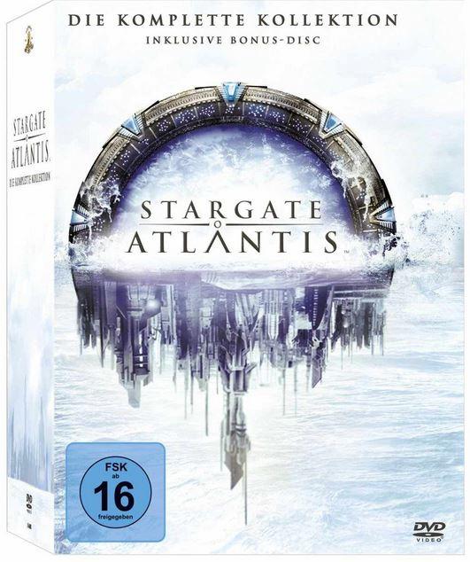 Stargate: Atlantis   Die komplette Kollektion (inkl. Bonus Disc) [26 DVDs] ab 34,99€