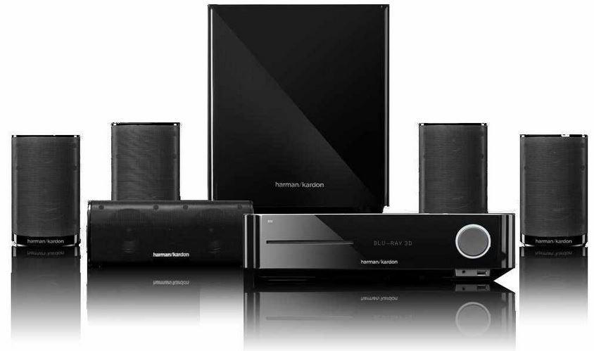 Harman Kardon BDS 770   5.1 Heimkinosystem mit 3D Blu ray Player für 629€