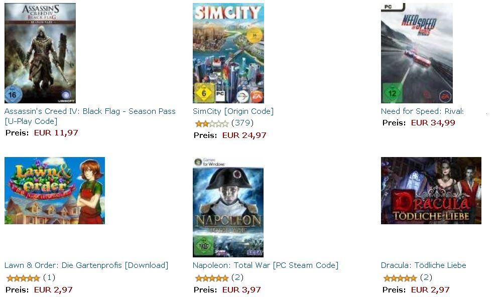 Winterschlußverkauf bei Amazon   z.B. günstige Weihnachtsartikel, Games und mehr Aktionen   Update!