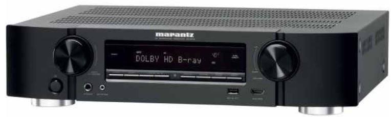 Marantz NR1504   5.1 AV Netzwerk Receiver mit AirPlay für 283,15€