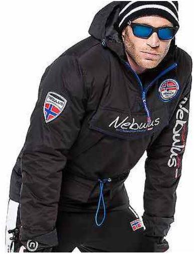 Nebulus Skidoo   Ski und Snowboard Jacke für 49,99€