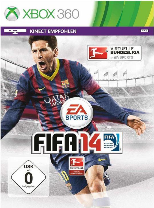 Xbox 360   250 GB + FIFA 14 ab 159€