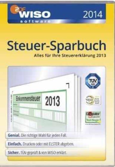 WISO Steuer Sparbuch 2014 (Steuerjahr 2013) ab 18€   Update!
