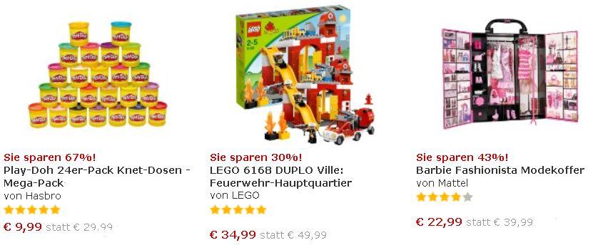 myToys 15€ Gutscheinkombi   Viele Schnäppchen für die Kleinen