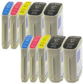 Tintenpatronen für Canon, Brother und HP Drucker   10er Pack je 24,99€