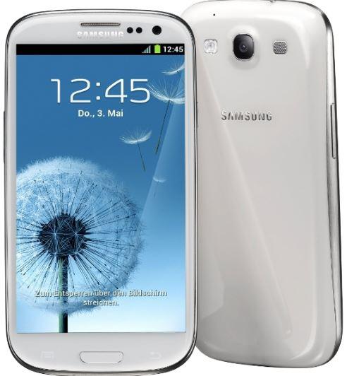Samsung Galaxy S3 i9300   Android 4 Smartphone mit 16 GB für 183,08€ als B Ware