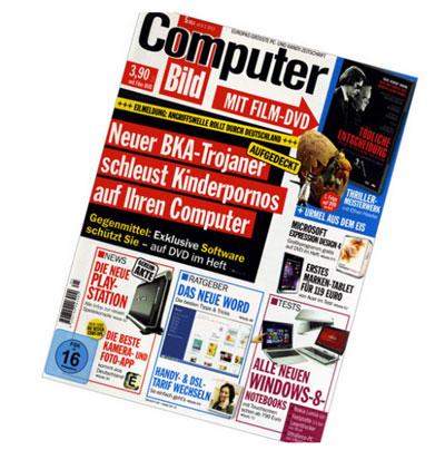 Jahresabo der Computer Bild + DVD für 29,90€