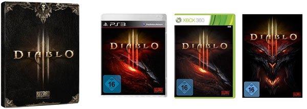 Diablo III ab 22,97€ bei Amazon   inkl. gratis Steelbook
