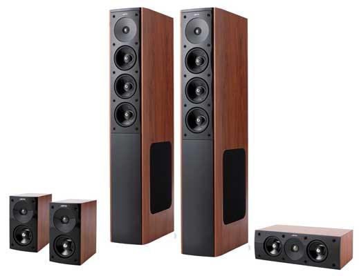 Update! Jamo S608 HC3 für 499€   5.0 Lautsprecher System